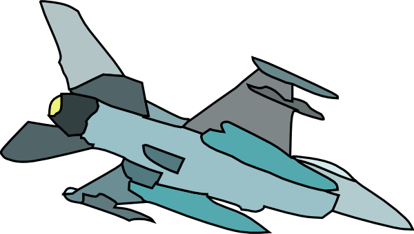 600x340 Military Fighter Plane Clip Art Free Vector 4vector