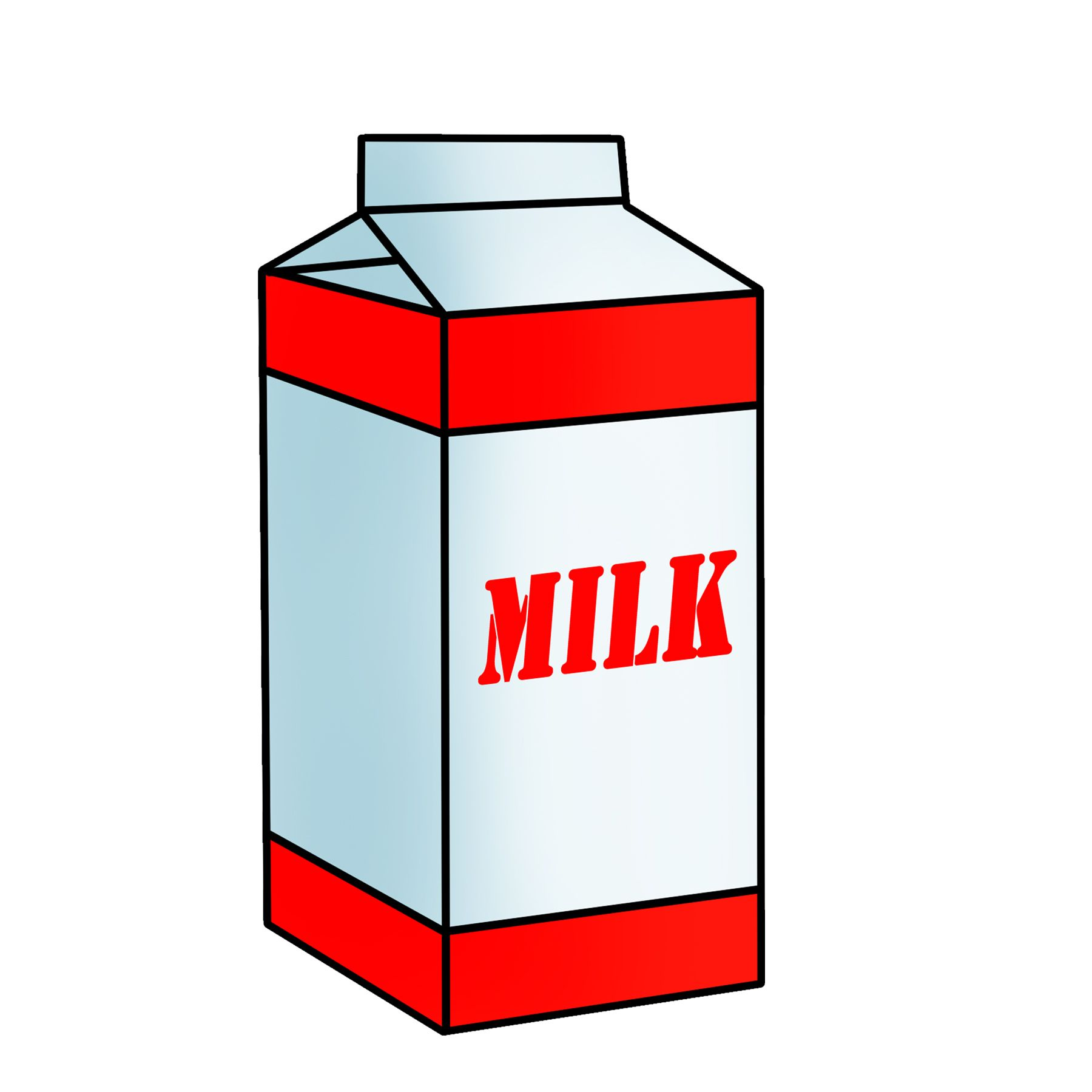 1800x1800 Free Red And White Milk Carton