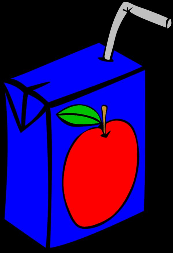 600x875 Milk Carton Clipart Blue