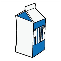 250x250 School Milk Carton Clip Art