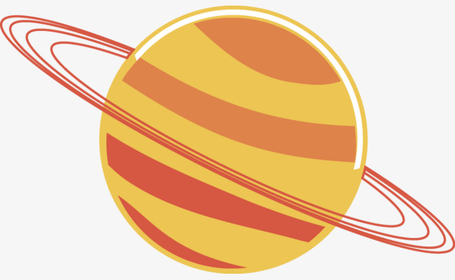 650x400 Vector Creative Design Icon Solar System Satellites, Solar System