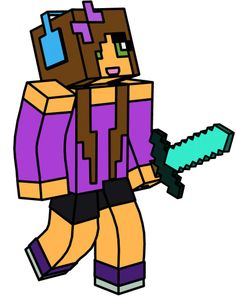 Minecraft Characters Clipart