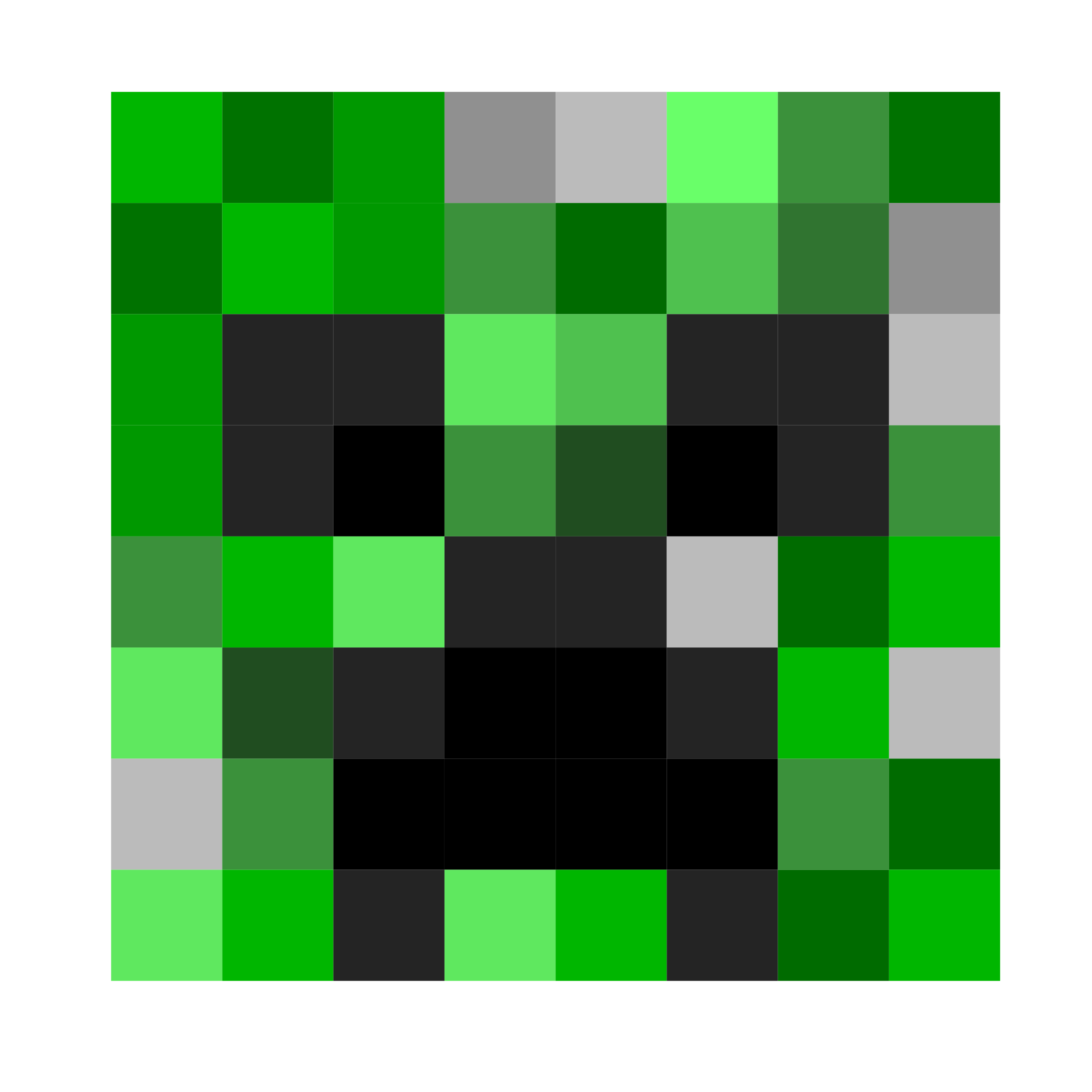 2400x2400 Minecraft Creeper Face Icons Png