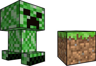 396x272 New Minecraft Clipart Optimus