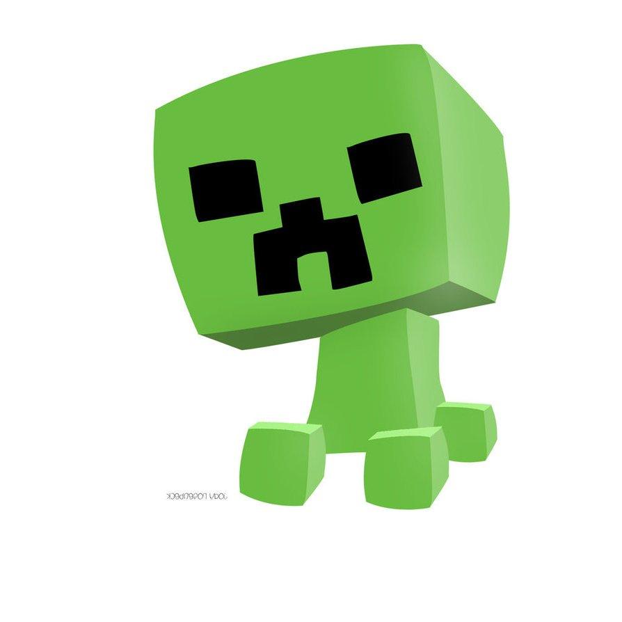 894x894 Minecraft Clipart Minecraft Creeper Many Interesting Cliparts