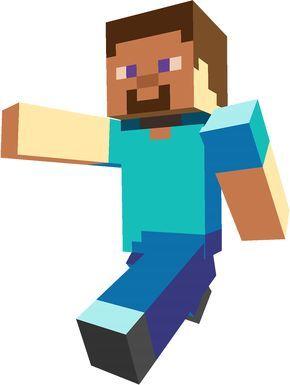290x385 Minecraft Personajes