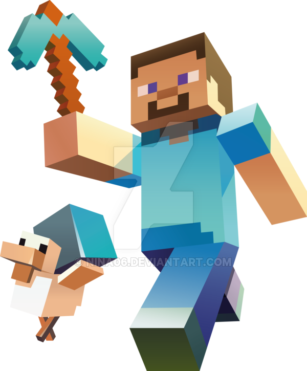 600x725 15 Minecraft Vector Art Images