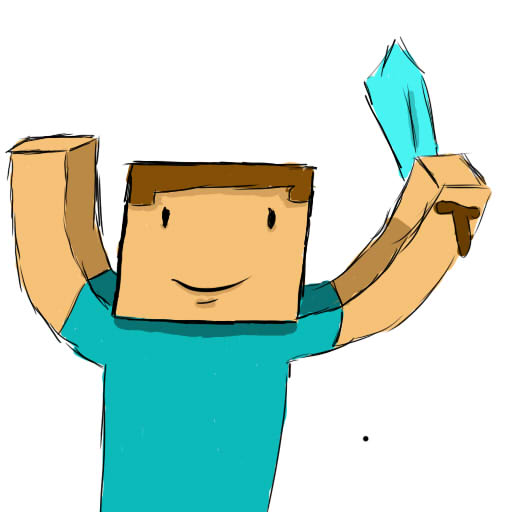 512x512 Minecraft Steve By Djcoolas