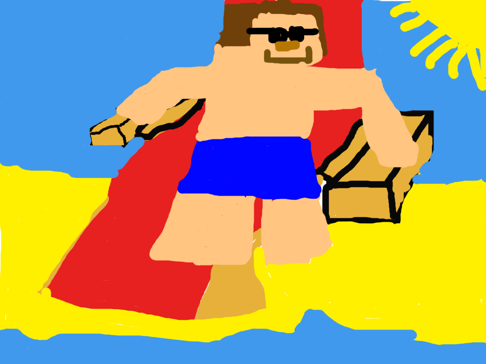 1000x750 Steve's Summer Fan Art!