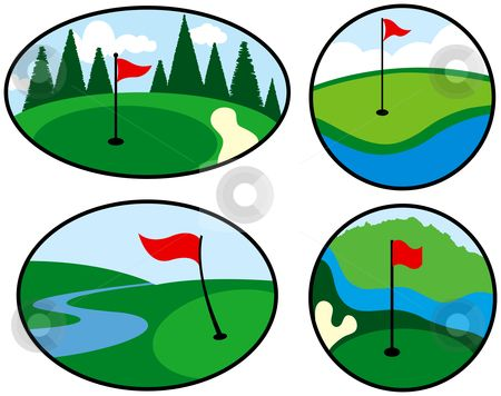 450x356 Deluxe Mini Golf Clipart Mini