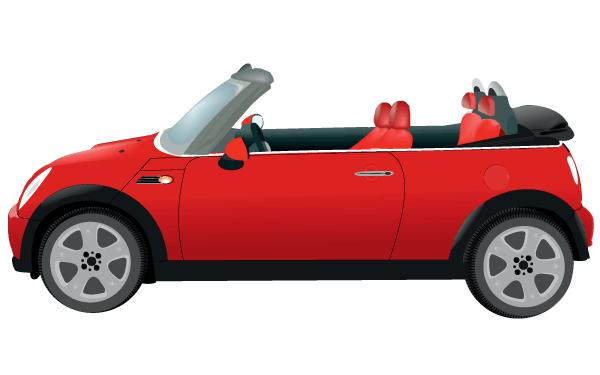 600x375 Mini Morris Car Vector Image Mini Morris And Cars