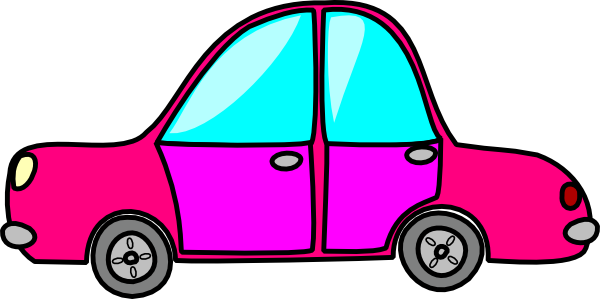 600x299 Clipart Pink Car Cartoons Pictures Free Download Clip Art