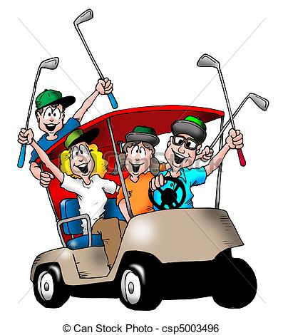 397x470 Collection Of Golf Cart Clipart Free High Quality, Free