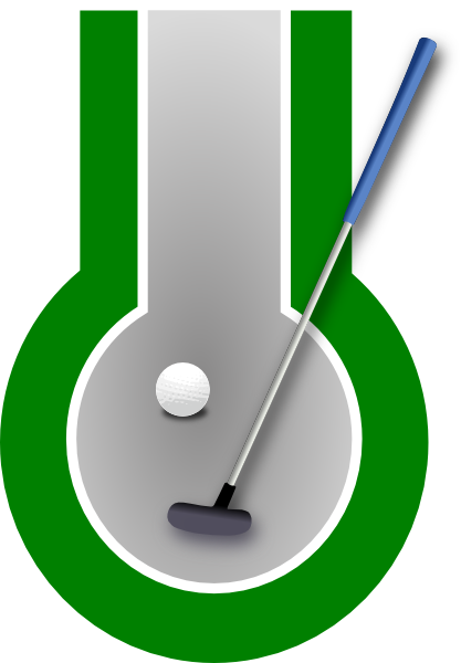 417x600 Free Golf Clipart And Animations
