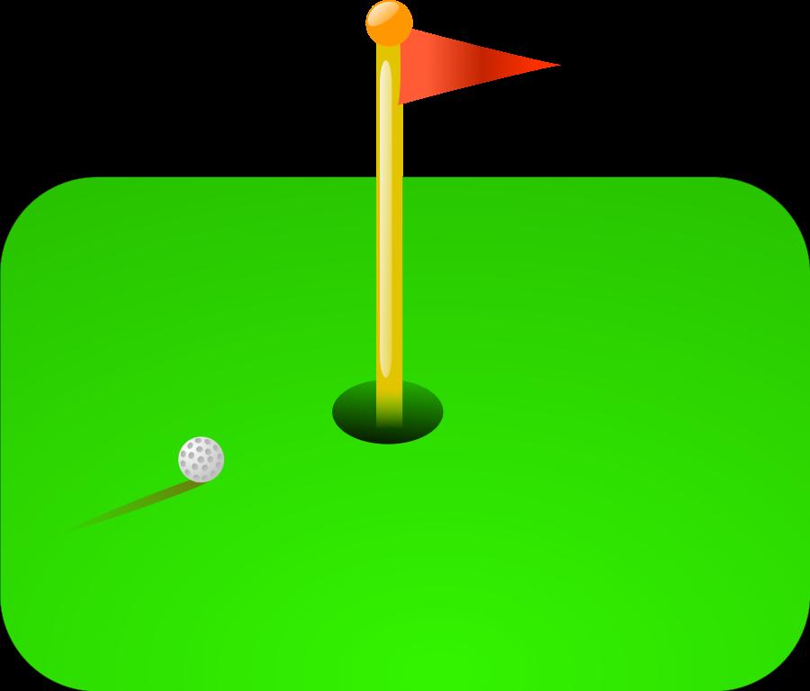 900x768 Golf Vector Art