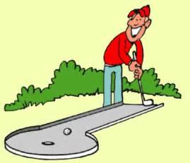 269x231 Mini Golf Clip Art