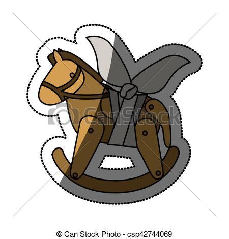 450x470 Miniature Horse Sign Vector Clipart Illustrations. 113 Miniature