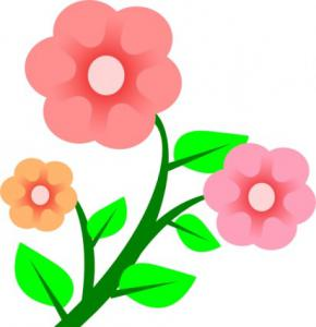 290x300 Clipart Of Miniature Roses