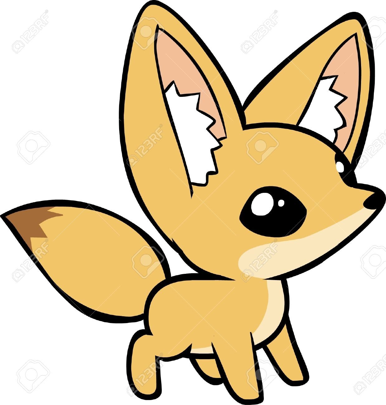 1238x1300 Fennec Fox Clipart Chibi