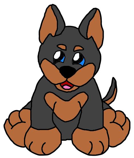 469x554 Webkinz Mini Pinscher Dog By Lpscat123