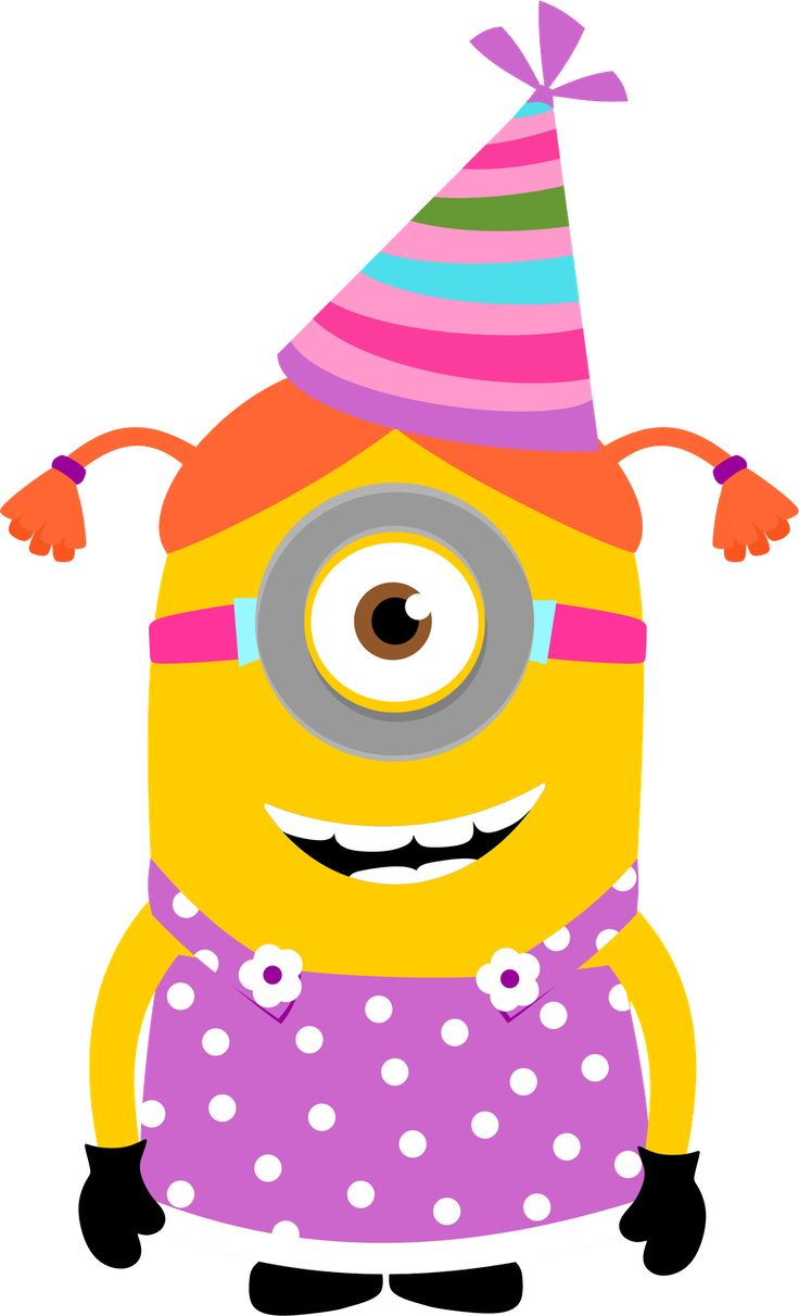 Minion Birthday Clipart