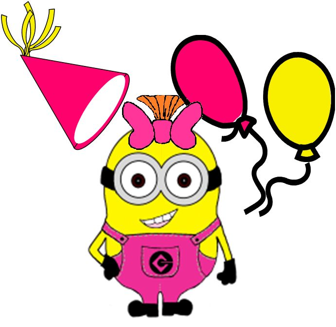 photograph about Free Printable Minions Birthday Card titled Minion Birthday Clipart at  Totally free for
