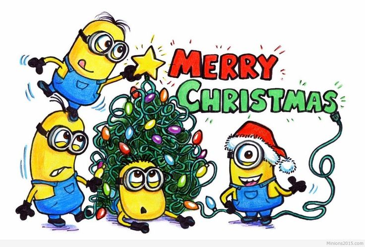 Minion Christmas Clipart