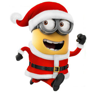 301x303 Christmas Minion Clipart
