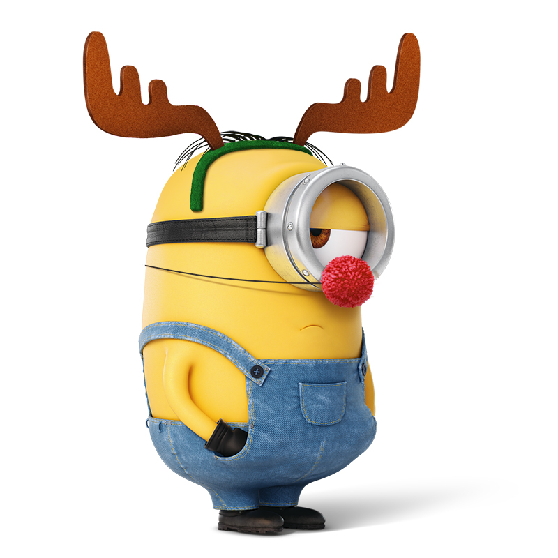 800x800 Collection Of Minion Clipart Christmas High Quality, Free