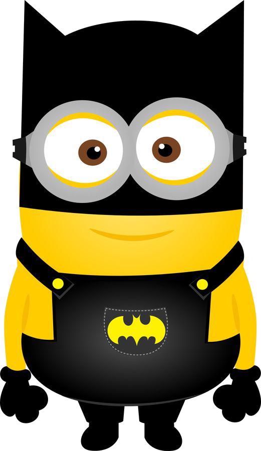 521x900 Minions Batman Clip Art Png