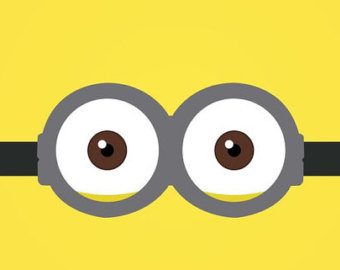 340x270 Collection Of Minion Eyes Clipart High Quality, Free