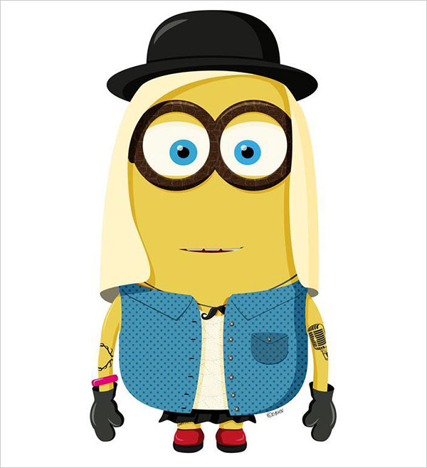 600x658 Despicable Me Clipart Hipster