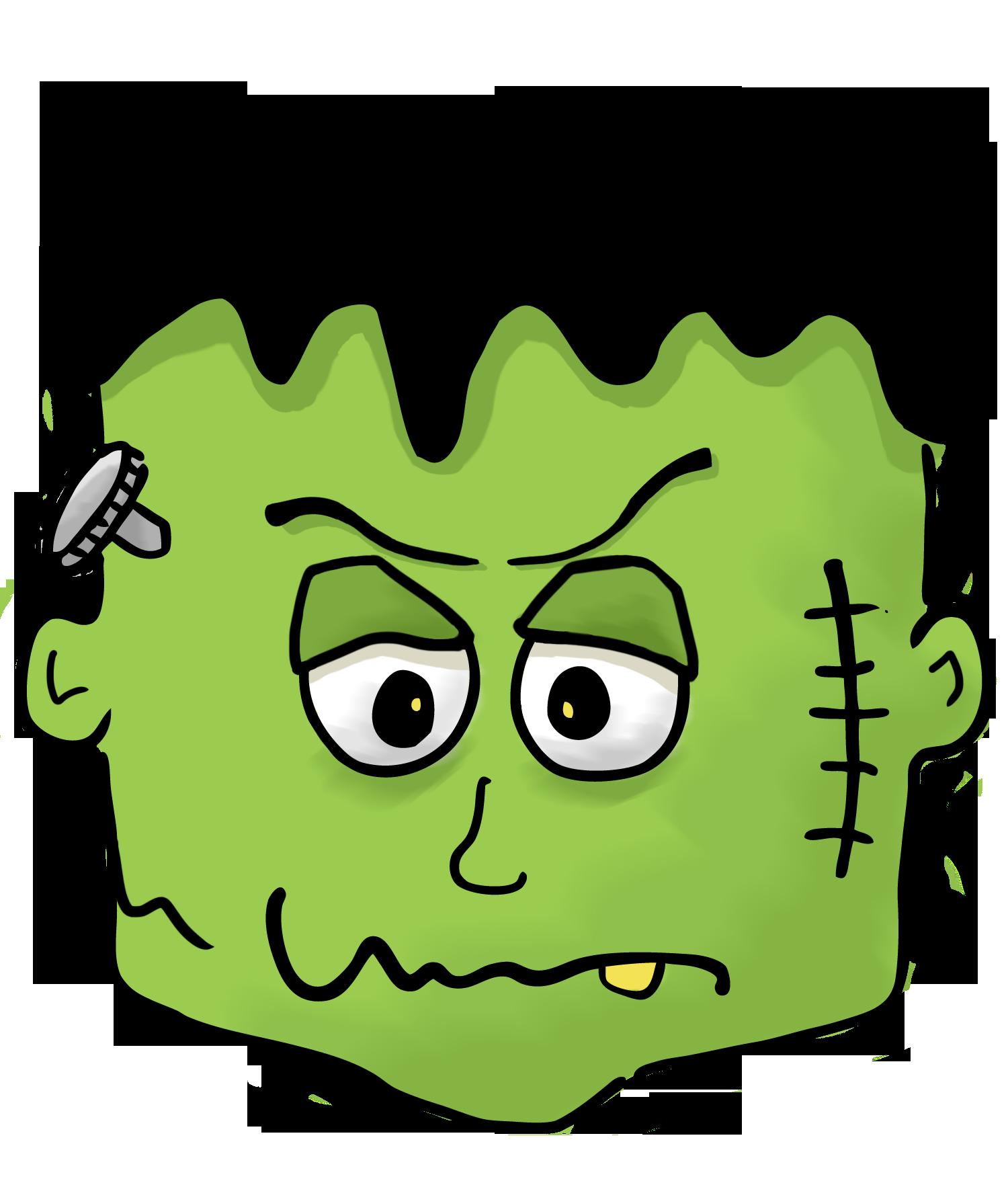 1500x1763 Halloween Clipart Frankenstein