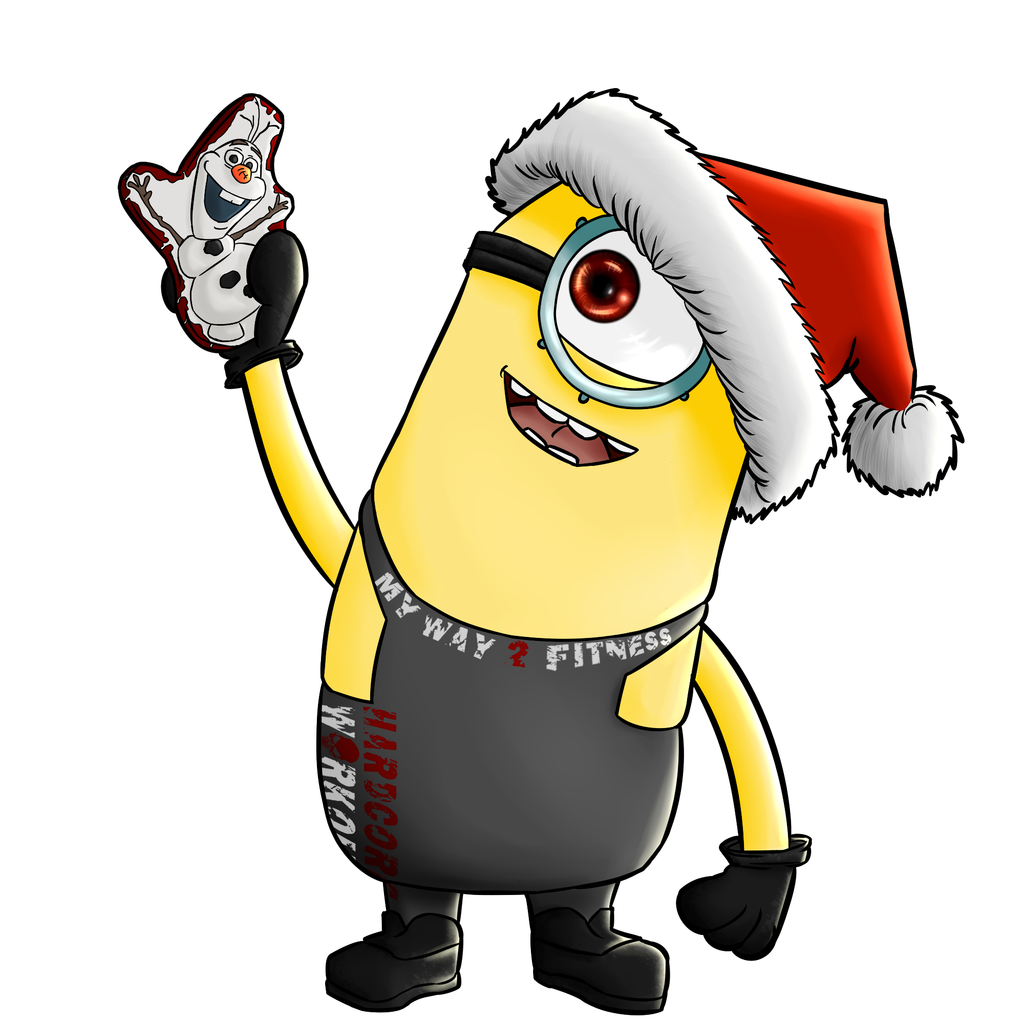1024x1024 Minion Christmas Drawings