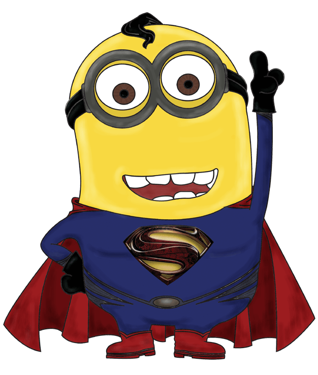 626x739 Minion Superhero Cliparts