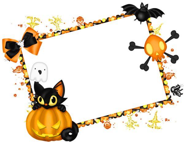 600x463 Halloween Clipart Free Border
