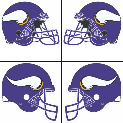 500x500 Minnesota Vikings Helmet Clip Art