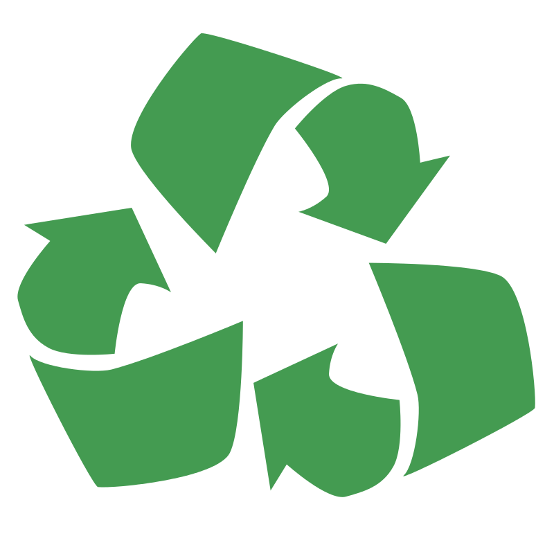 800x800 Recycle Symbol Clip Art