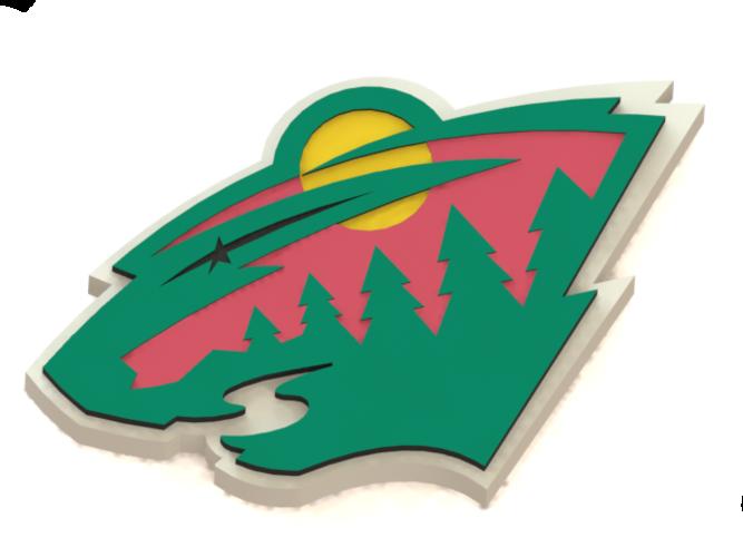 667x500 Minnesota Wild Clipart