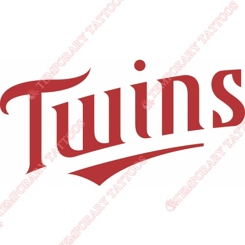 500x500 Minnesota Twins Temp Tattoos Customize Temporary Tattoos,kids