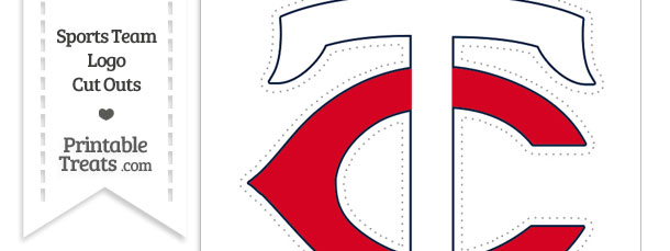 610x229 Large Minnesota Twins Logo Cut Out Printable