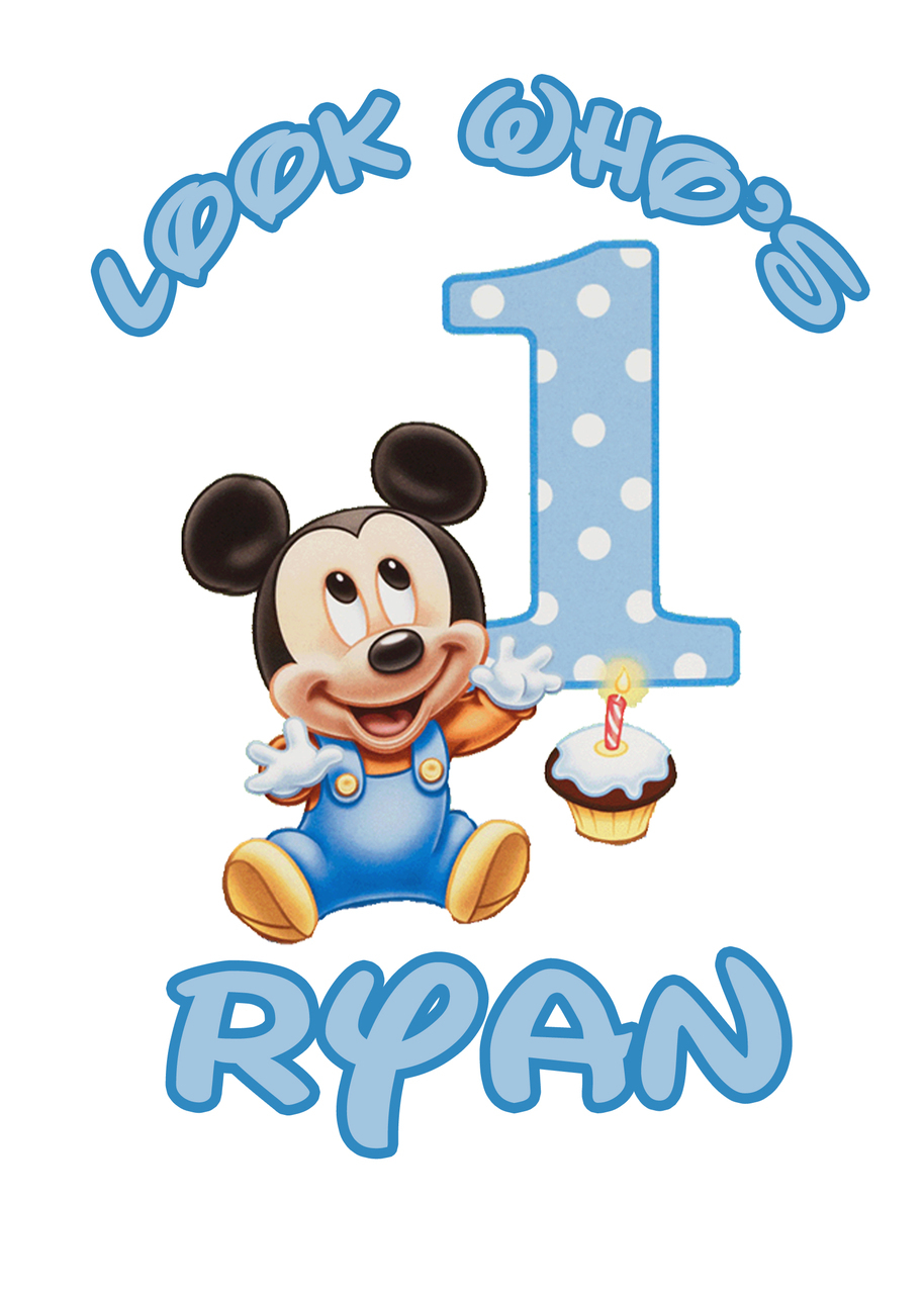 914x1280 Mickey Mouse 1st Birthday Clipart Minnie Mouse 1st Birthday
