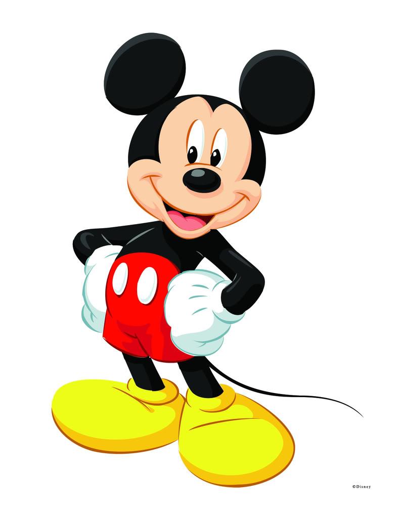791x1024 Mickey Clip Art Clipartlook
