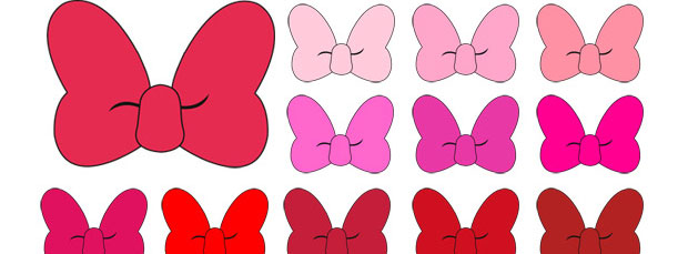 Minnie Mouse Bow Clipart