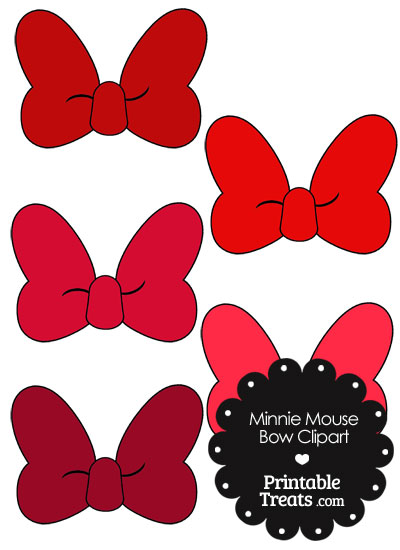 400x550 Ribbon Clipart Minnie Mouse#3854213