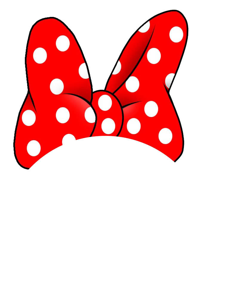 791x1024 Minnie mouse bow clip art free clipart images 2