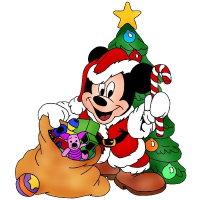400x400 54+ Mickey Mouse Christmas Clipart ClipartLook