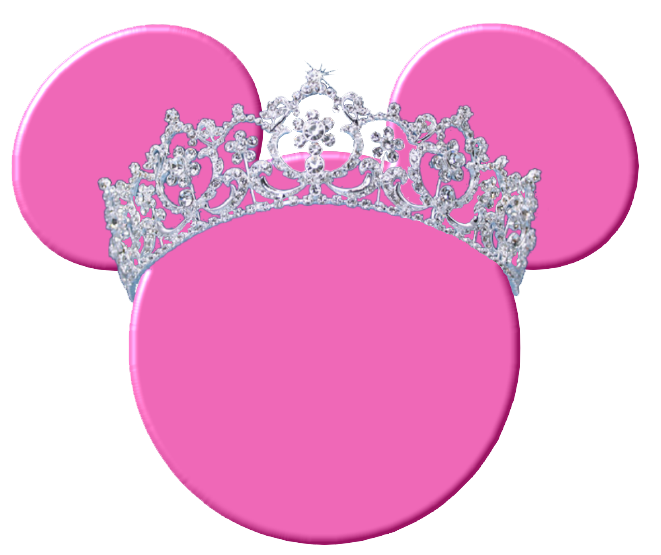 661x555 Minnie mouse bow minnie mouse head with blue scarf and bow clipart