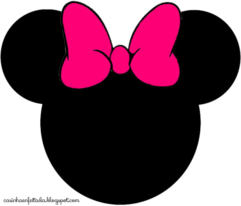 830x712 Collection Of Minnie Mouse Head Clipart High Quality, Free