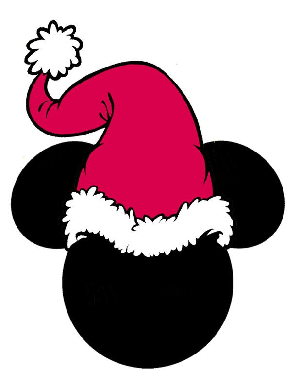 618x799 Santa Mickey Mouse Clipart